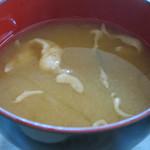 ユニオン - わかめと麩のあっさりした味噌汁