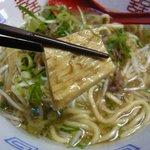 遊麺地ずんべらぼん - ずんべらサンの牛麺(牛スジ)