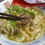 遊麺地ずんべらぼん - ずんべらサンの牛麺(牛バラ)