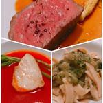 コルドーネ - 長崎産赤身肉 魚カワハギ フィトチーネ