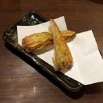 徳田酒店 御肉 - ちくわ磯辺天