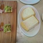 スペインバル バレンシア - 前菜&フォカッチャ