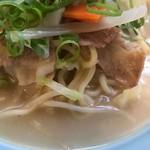 源来軒 - スープの表情
