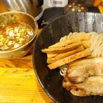 つけ麺 井手 - 全部のせつけ麺