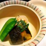 日本料理 浮橋 - 穴子 奉書巻き