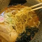 つけ麺 素家 - 中華そばの麺