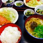 Tachibanaudon - 本日の定食。