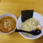 武市総本店 - 辛味噌つけ麺(大盛・激辛200)