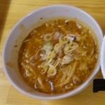 武市総本店 - 辛味噌つけ麺(スープ・激辛200)
