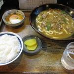 十兵衛 - カレーうどん定食