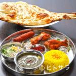 印度れすとらん カシミール - タンドリーチキン・チキンティッカ・シークカバブとインド料理をしっかり楽しめる『パワフルセット』