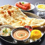 印度れすとらん カシミール - デザートがお楽しみ。どなたでも注文できる『レディースセット』