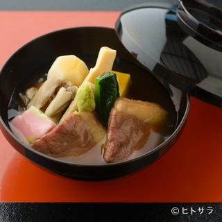 金沢ならではの味わいを満喫できる充実の会席料理