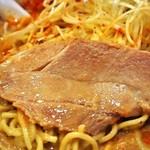 麺屋 極鶏 - 極鶏 赤だく(チャーシュー)