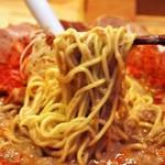 麺屋 極鶏 - 極鶏 赤だく(麺)