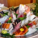 sumibiya - 本日の鮮魚 豪華5点盛り合わせ
