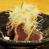 乃り英 - 料理写真:造り:鰹タタキ