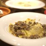 フレッシュチーズのお店 rocco - ランチ/お肉のラビオリラグーソース