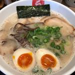 久留米ラーメン清陽軒 - すっぴんチャーシューメン+味玉 870円