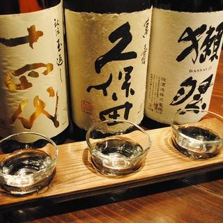 【銘酒】和食・鉄板焼き×日本酒全国の希少銘柄を楽しむ