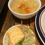 67780233 - サラダとスープ
