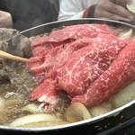 魚松 - お肉追加~