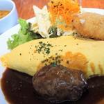 洋食mais - オムライスランチ1300円