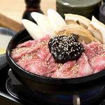 黒毛和牛の五寸鍋