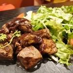 肉バル DENNER-ROIN - サイコロステーキ