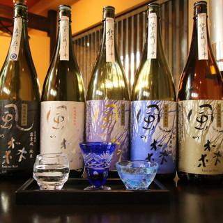 《奈良の地酒を豊富にお楽しみいただけます》