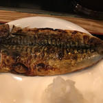 なかめのてっぺん - 鯖の干物のアップ