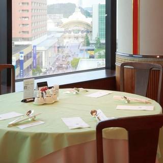 【大切な方とのお食事に】景色を楽しむお席をご用意