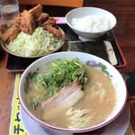 長浜ラーメン一番 - 料理写真:2017年05月30日  から揚げ定食