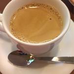 パスタランテ - コーヒーは香りがいいです♪