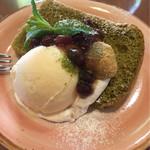 パスタランテ - 抹茶シフォンケーキ