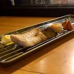 67785891 - 魚串BBQ風(ニベ、タイラギ)