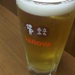 佐野屋 - バドワイザー生300円