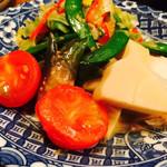 四季の味じん - 旬の温野菜サラダ