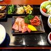 京城苑 - 料理写真:焼肉和牛カルビ定食1500円(税別)