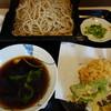 夫婦庵 - 料理写真:竹やぶスタイルの天せいろ