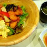 大阪粉もんダイニング くう - ◆チキン南蛮丼②