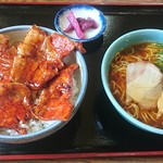 さくら亭 - 豚丼セット1200円