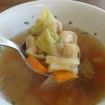 サンモニート - 日替わりランチ(950円)大豆たっぷりスープ