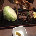 軍鶏専門個室 東京しゃ門 - 東京しゃも 極み炙り焼き(中) 1,382円