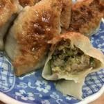 中央亭 - とっても美味しい肉餡