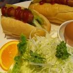 食堂カフェ COCO家 - ホットドックモーニング