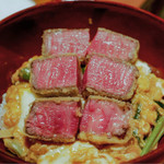 生粋 - シャトーブリアンのカツ丼