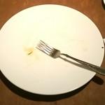 サポセントゥ ディ アキ - まず、サラダ完食!