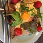 蕎麦屋 斐川 - ガレットコンプレランチのガレット