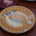 九州 すし市場 - 料理写真:炙りトロサーモン